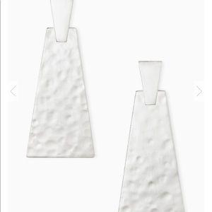 Kendra Scott Keerti Statement Earrings in Silver